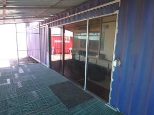 Steel Sliding Door