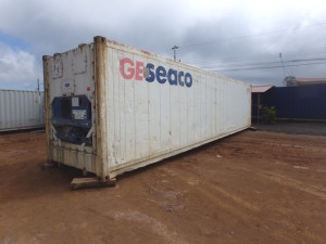 Reefer containers 40ft long 9ft high
