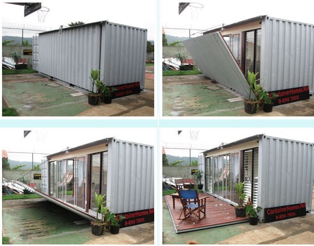 Shipping Container Studio Apartment