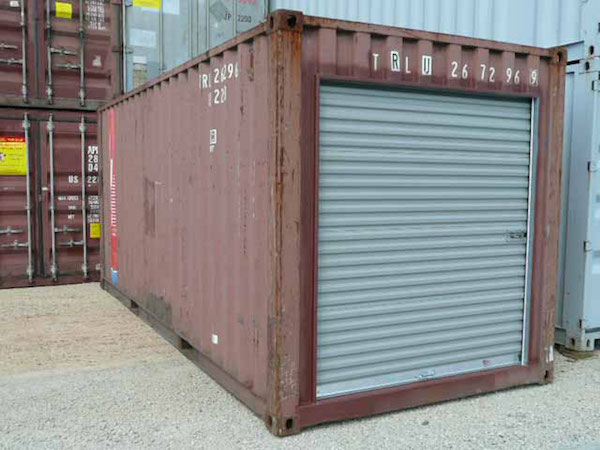 roll up doors on containers