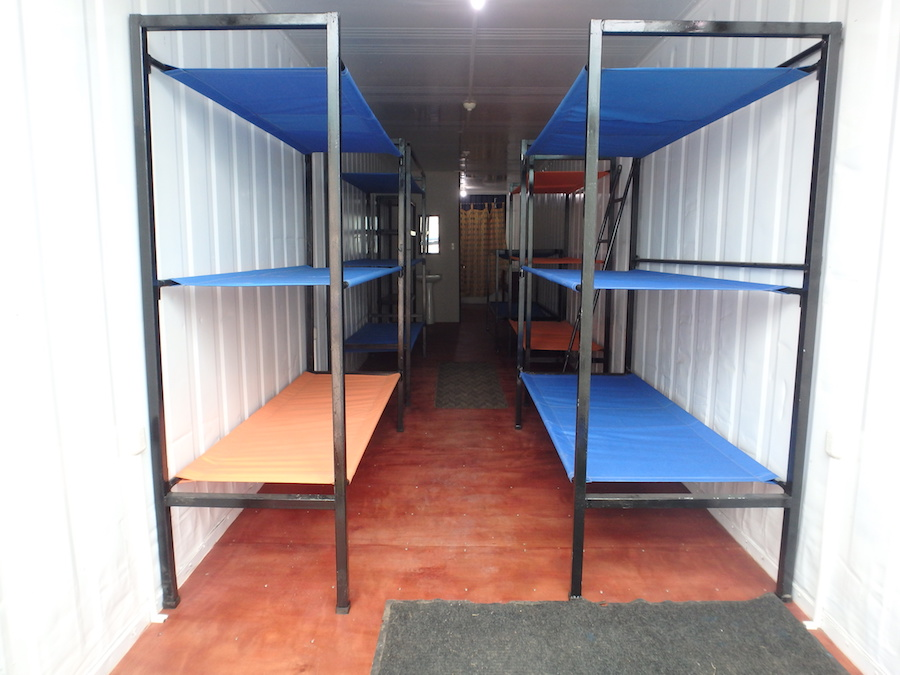Emergency Shelters Product : Bulk bund beds for emergency shelters containerhomes