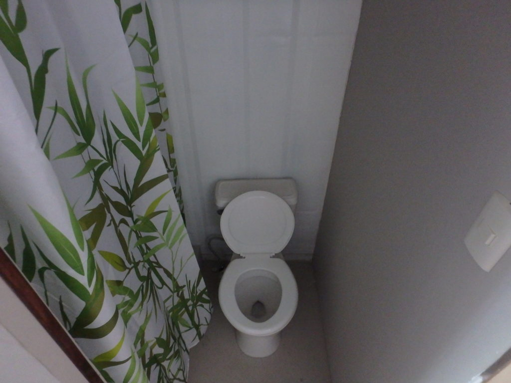Composting toilet for shipping container homes