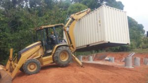 Containerhome foundation2