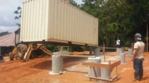 Containerhome foundation4