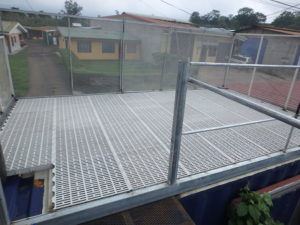 Roof Top Deck On A Container Homes In Costa Rica Containerhomes Net