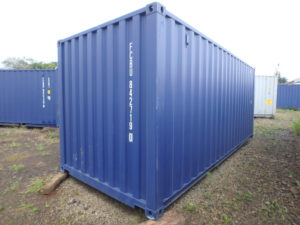 Shipping containers in Costa Rica