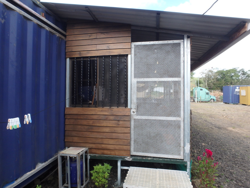 Front Door Shipping container