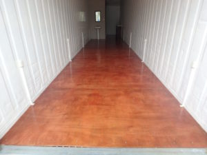 U201c You Must Be Very Careful If You Are Planning To Sand The Floor Of Your  Shipping Container. Sanding Will Release Toxic Material And Exposure Could  Be ...